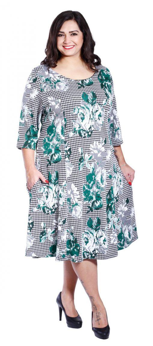 NELINKA - šaty 105 - 110 cm - také ve větších velikostech